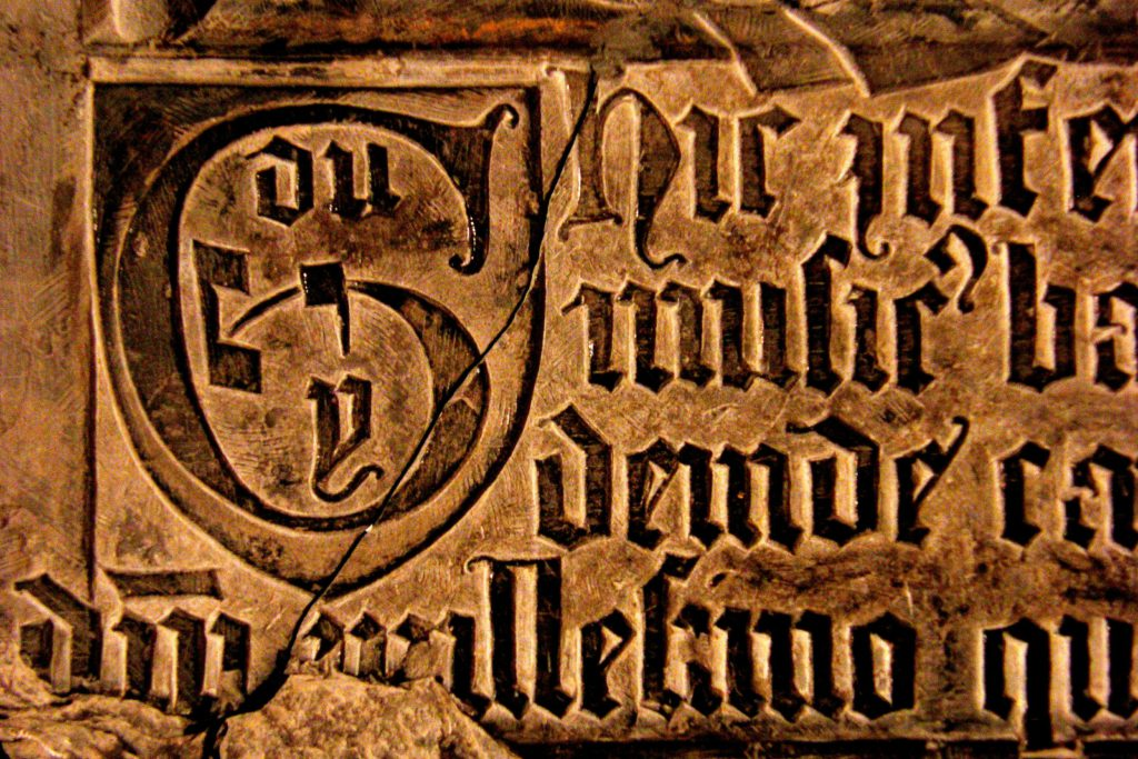 Epitaph of Guillaume Dufay