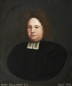 A portrait of Daniel Williams