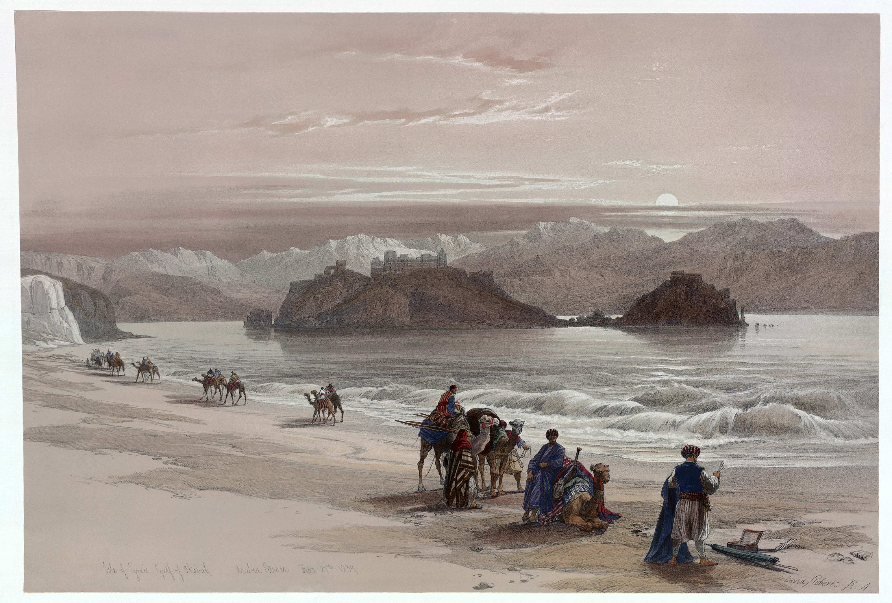 Painting of the Isle of Graia
