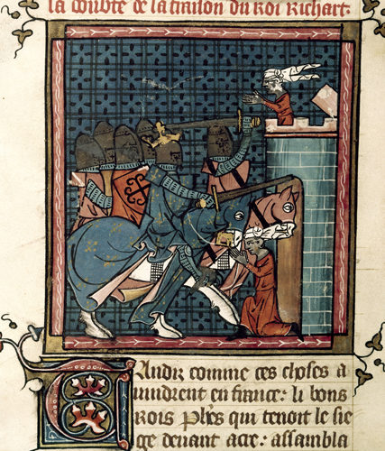 Miniature depicting the capture of Acre
