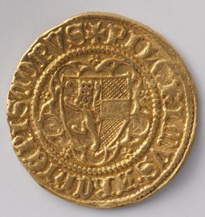 Gold coin of Pilgrim von Puchheim