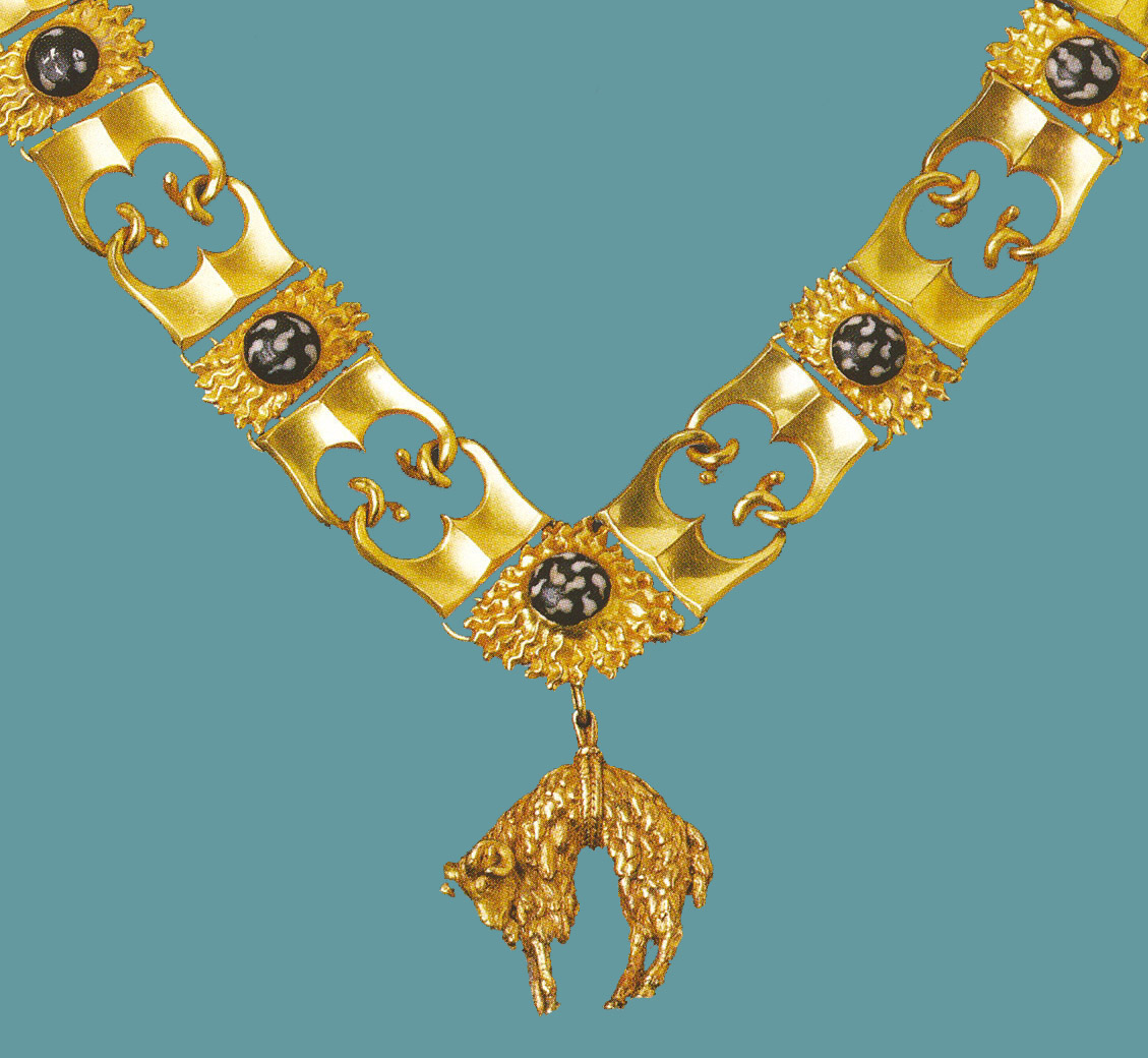 Ceremonial gold chain of the Order of the Golden Fleece