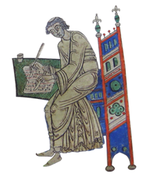illumination of a scribe