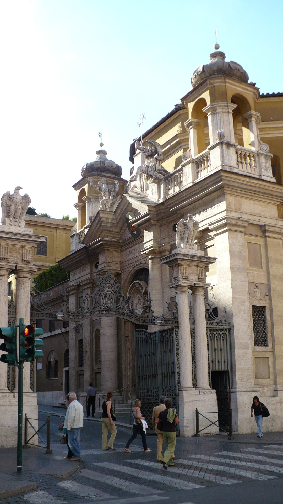 The Potra Santa'Anna. An elaborate stone gateway