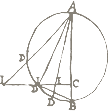 the logo of the max planck instuitute for the history of science - a mathematical diagram